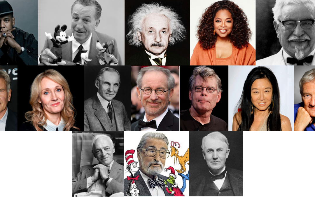 15 Ridiculously Influential People Who Had to Fail to Succeed